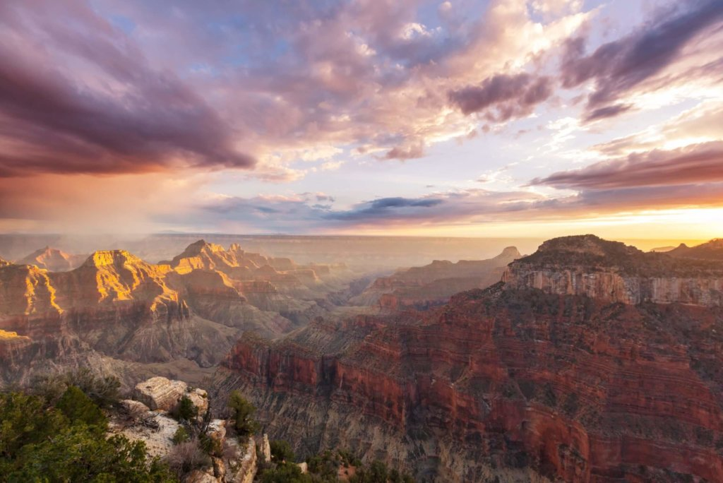 What is the best view of the Grand Canyon?
