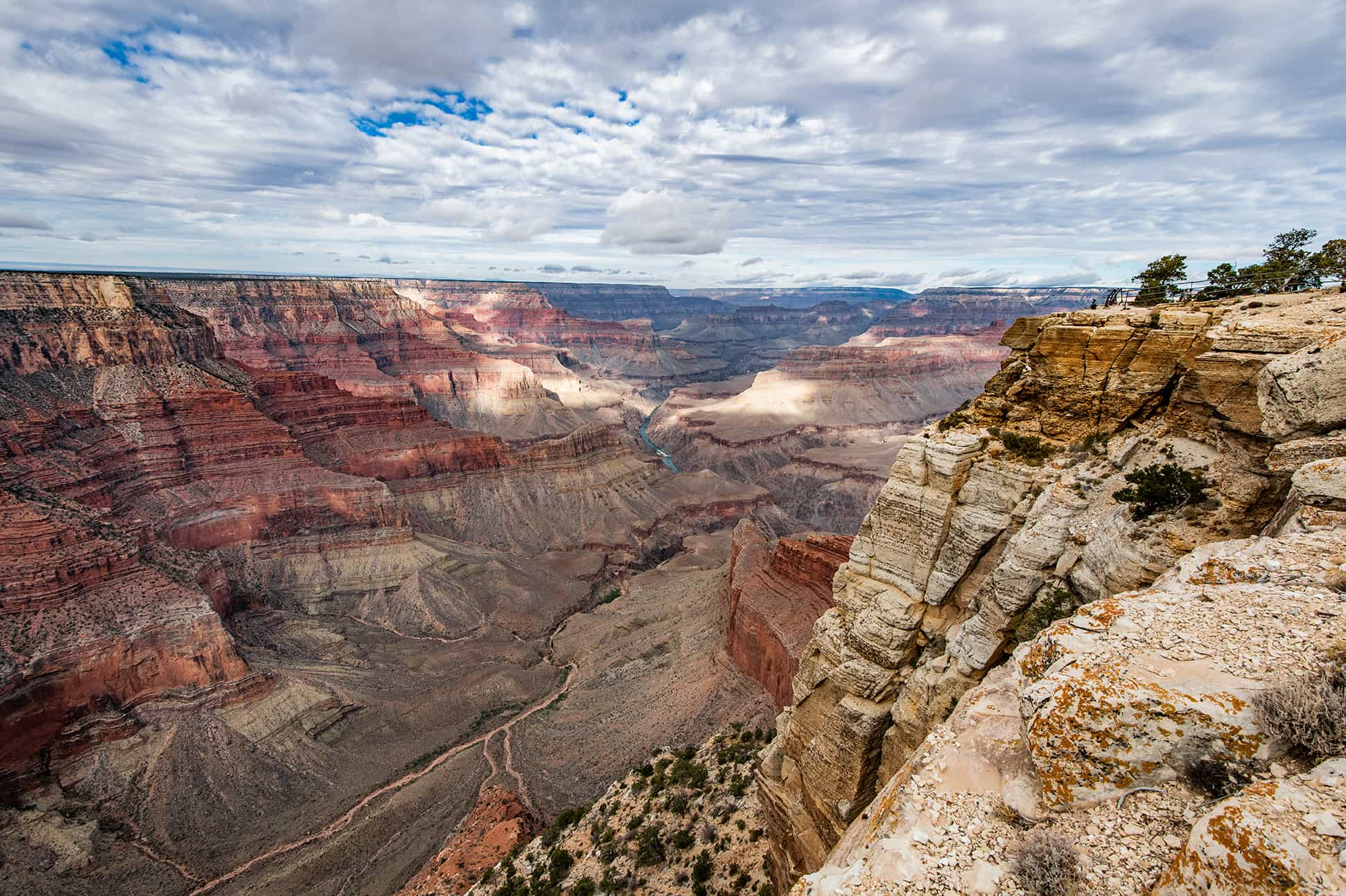 Visiting Hopi Point At Grand Canyon National Park